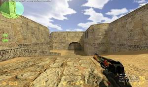 Counter Strike 1.6 Fire Weapons