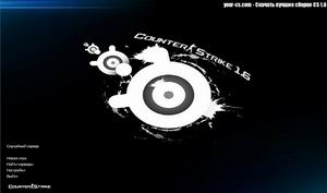 Counter Strike 1.6 в стиле SteelSeries